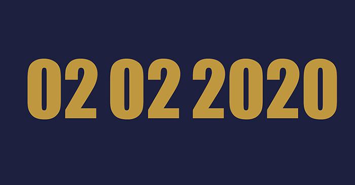 আজ 'দ্বিমুখী তারিখ' 0202 2020